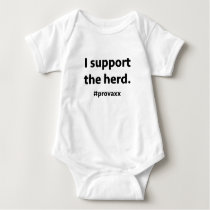 Pro Vaccination Baby Bodysuit