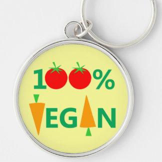 Pro Vegan Funny Keychain