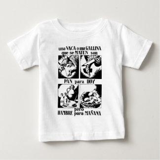 Pro Vegetarian Livestock Advertising Baby T-Shirt
