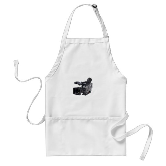 pro video camera adult apron