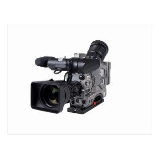 pro video camera postcard