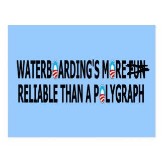 Pro waterboarding post card