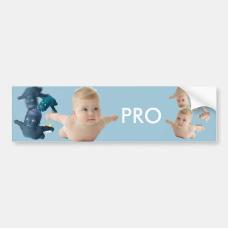 Pro What Bumper Sticker