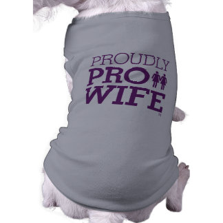 PRO WIFE PUP TEE