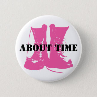 Pro Women in Combat Pink Boots Pin