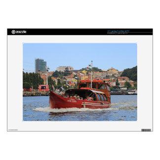 """Proa Douro boat, Porto,Portugal 15"""" Laptop Decals"""