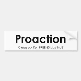 Proaction Pegatina Para Auto