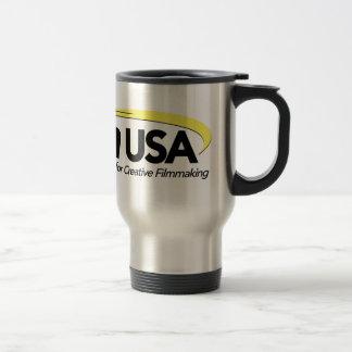 ProAm USA Logo 15 Oz Stainless Steel Travel Mug