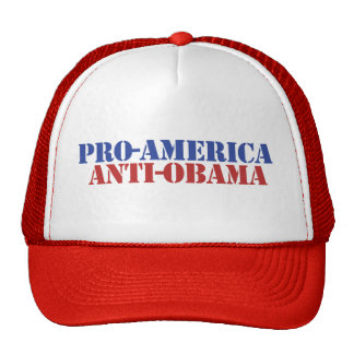 ProAmerica AntiObama Gorro
