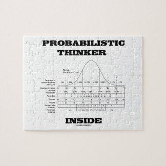 Probabilistic Thinker Inside (Bell Curve Humor) Puzzles
