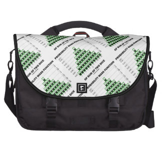 Probability Mass Function Of Sum Of Two Dice Laptop Messenger Bag