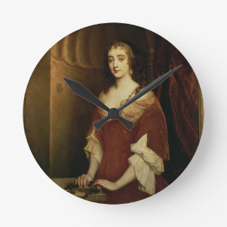Probable portrait of Nell Gwynne (1650-87), mistre Round Clock