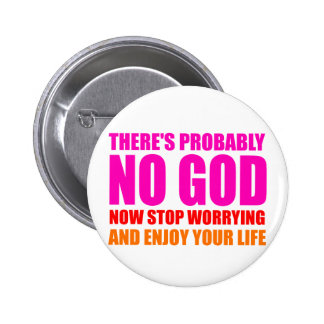Probably No God Button