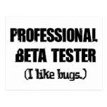probador beta profesional (como insectos) postal