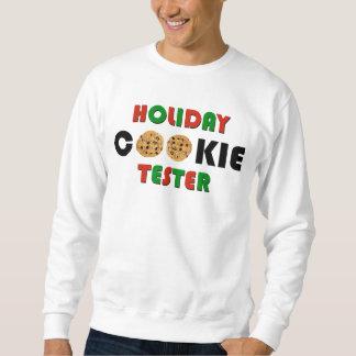 Probador de la galleta del día de fiesta pulover sudadera