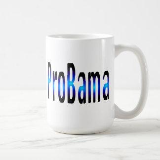 ProBama in Blue Coffee Mug