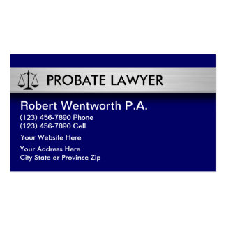 Probate Law Business Cards