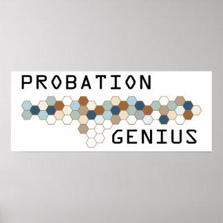 Probation Genius Poster