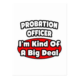 Probation Officer ... Big Deal Postcard