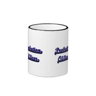 Probation Officer Classic Job Design Ringer Coffee Mug