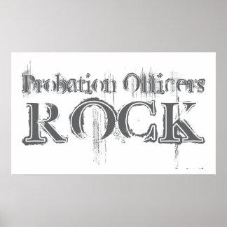 Probation Officers Rock Poster