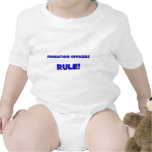 Probation Officers Rule! Baby Bodysuits