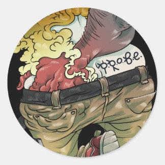 Probe! Classic Round Sticker