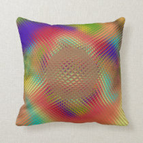 Probing Orb Throw Pillow