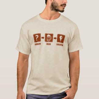 Problem Beer Solution T-Shirt