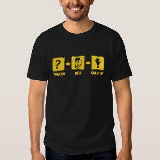 Problem Beer Solution Tee Shirt