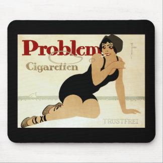 Problem Cigarette Ad Mouse Pad