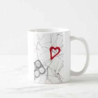 Problem- drug addiction 2 classic white coffee mug