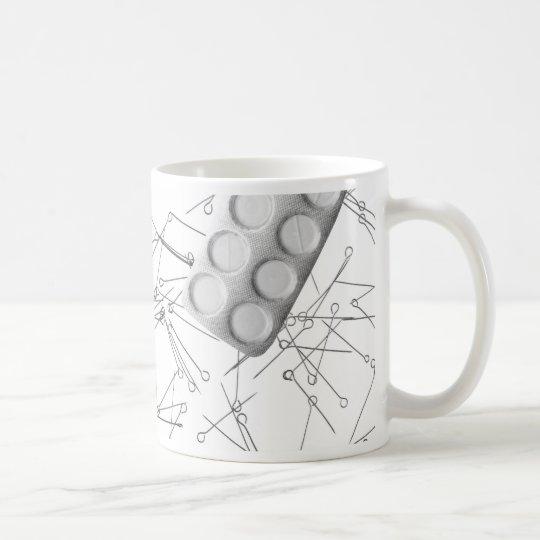 Problem- drug addiction coffee mug