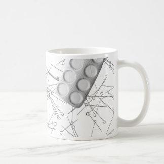 Problem- drug addiction classic white coffee mug