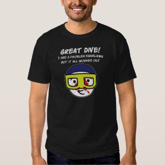 Problem Equalizing Dark T-shirt