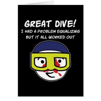 Problem Equalizing Greeting Card