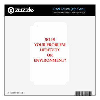 PROBLEM iPod TOUCH 4G DECAL