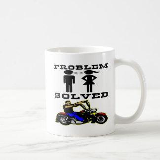 Problem Solved Biker #002 Coffee Mug
