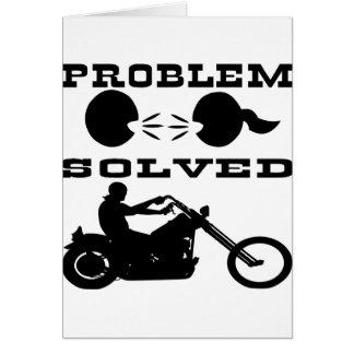 Problem Solved Biker #004 Card