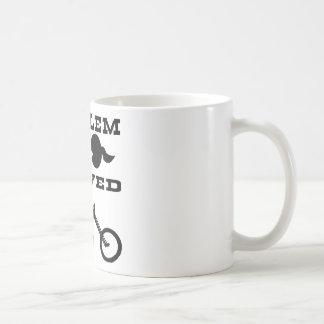 Problem Solved Biker #004 Coffee Mug