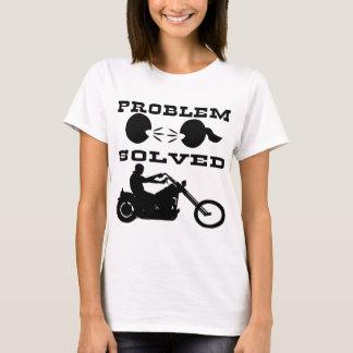 Problem Solved Biker #004 T-Shirt