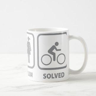 Problem Solved Cycling Coffee Mug