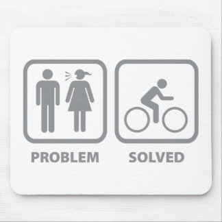Problem Solved Cycling Mouse Pad
