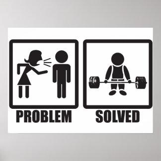 Problem Solved - Deadlift Poster