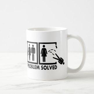 Problem solved - Man Coffee Mug
