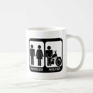 Problem solved motorbike.png coffee mug