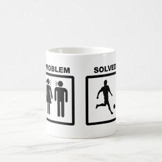 Problem Solved Basic White Mug