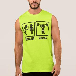 Problem Solved - Overhead Press Sleeveless Shirt