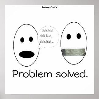 Problem Solved Poster