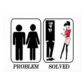 Problem solved ska postcard